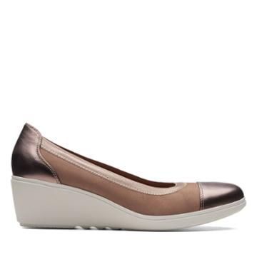Clarks Un Tallara Liz - Pebble - Womens 5.5