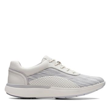 Clarks Un Cruise Lace - White - Womens 8.5