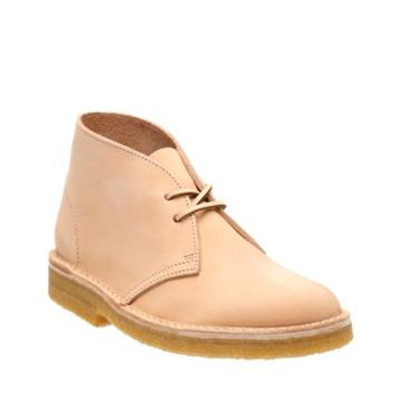 Clarks Desert Boot. In Natural Veg Tan Leather