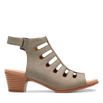 Clarks Valarie Shelly - Sage - Womens 6