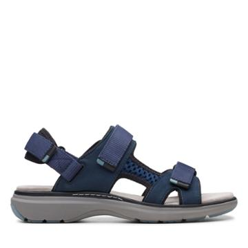 Clarks Un Roam Step - Navy - Womens 6.5