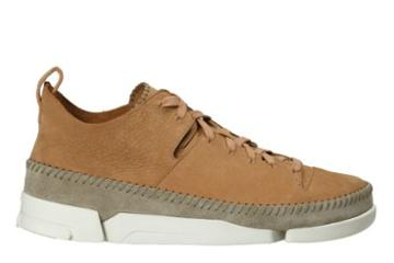 Clarks Trigenic Flex In Fudge Nubuck