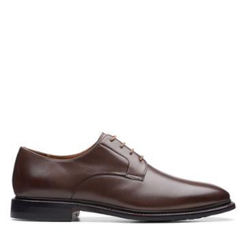 Clarks Bridgeport Low - Brown Leather - Mens 9.5
