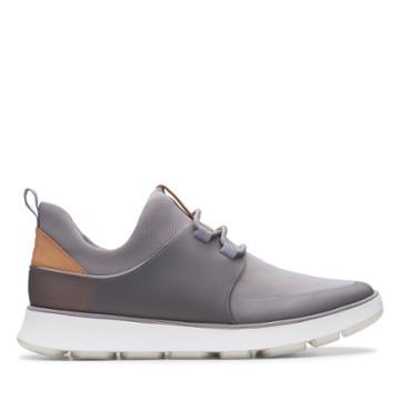 Clarks Soopasft 01 - Grey Textile - Mens 10