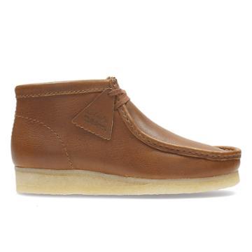 Clarks Wallabee Boot - Tan Tumbled - Mens 8