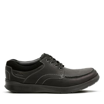 Clarks Cotrell Edge - Black Oily Leather - Mens 10.5