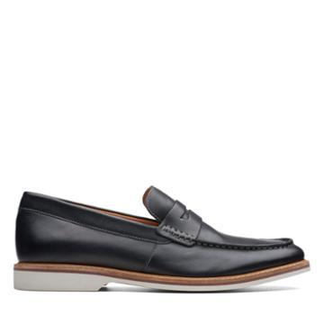 Clarks Atticus Free - Black Leather - Mens 9