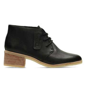 Clarks Phenia Carnaby - Black Leather - Womens 9