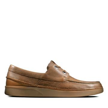 Clarks Oakland Sun - Tan Leather - Mens 9