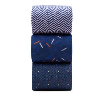 Clarks 3pk Confetti - Multicolour - Mens Accessories 0