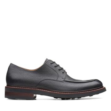 Clarks Whitman Lace - Black Interest Leather - Mens 11