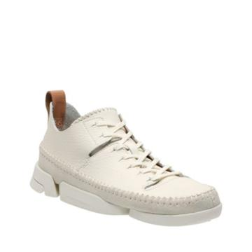 Clarks Trigenic Flex. In White Nubuck