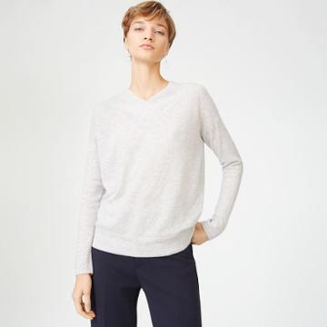 Club Monaco Color Grey Santinah Cashmere Sweater