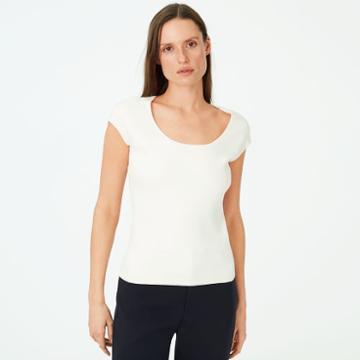 Club Monaco Color White Ludvig Sweater