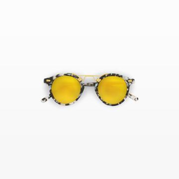 Club Monaco Color Gold/black Krewe St. Louis Sunglasses