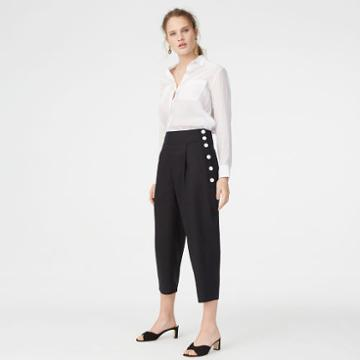 Club Monaco Color Black Valerena Pant
