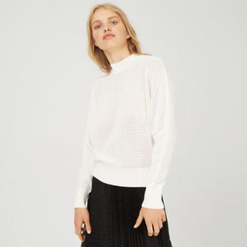 Club Monaco Color White Eileeney Sweater