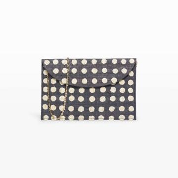 Kayu Color Black Kayu Tulum Clutch