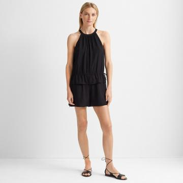 Club Monaco Black Tie Romper