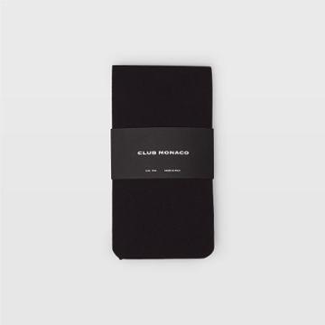 Club Monaco Color Black Heavy Black Opaque Tights