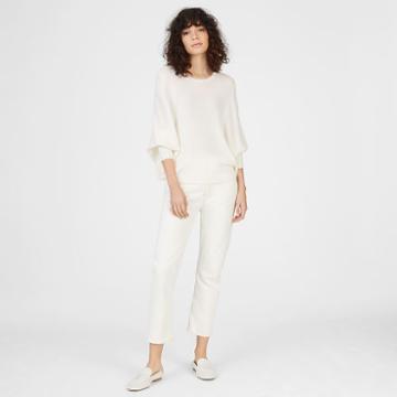 Club Monaco Color White Gizal Merino Sweater