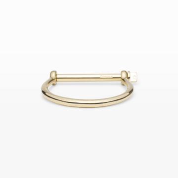 Miansai Color Gold Miansai Screw Cuff Bracelet