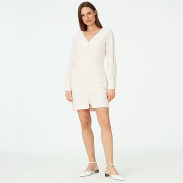 Club Monaco Color Cream Mymie Dress