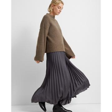 Club Monaco Walnut Bell Sleeve Sweater