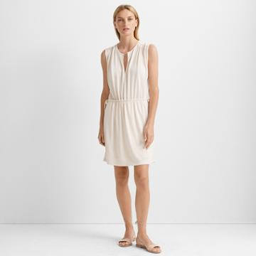 Club Monaco Almond Tie Waist Knit Dress