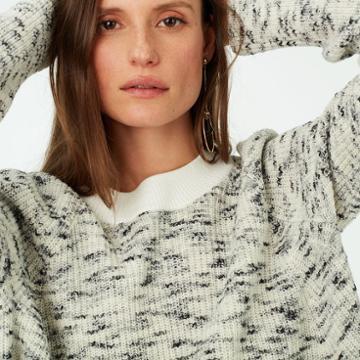 Club Monaco Color White Hedda Sweater