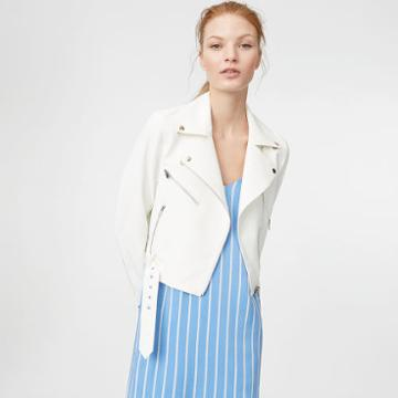 Club Monaco Color White Lacarrah Jacket