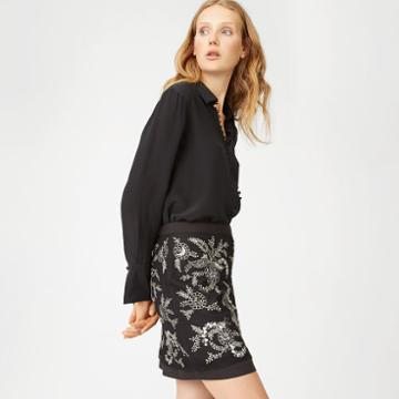 Cc Color Black Bicca Skirt