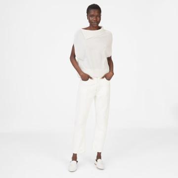 Club Monaco Color White Aiden Cashmere Sweater