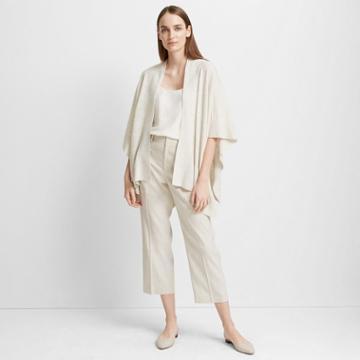 Club Monaco White Noise Wookima Cashmere-silk Sweater
