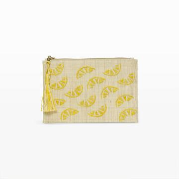 Kayu Color Yellow Kayu Lemonade Pouch