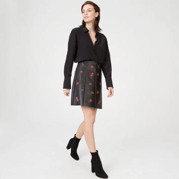 Club Monaco Color Black Edvard Skirt