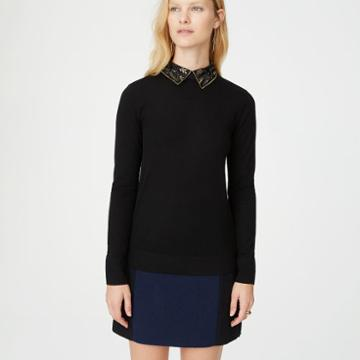 Club Monaco Color Black Onalee Sweater