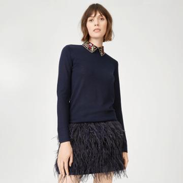 Club Monaco Color Blue Joannah Sweater