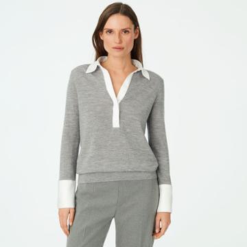 Club Monaco Color Grey Sosey Sweater