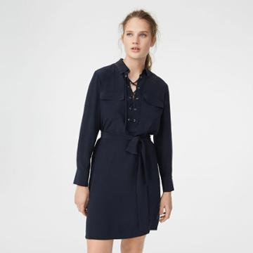 Club Monaco Color Black Calyer Dress