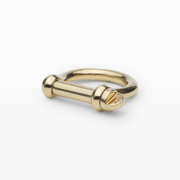 Miansai Color Gold Miansai Screw Ring