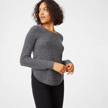 Club Monaco Color Grey Rhona Cashmere Sweater