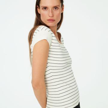 Club Monaco Color Black Ludvig Stripe Sweater