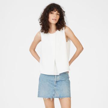Club Monaco Color White Eszti Top