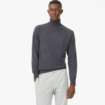 Club Monaco Color Grey Cashmere Turtleneck