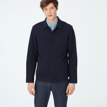 Club Monaco Twill Workwear Jacket