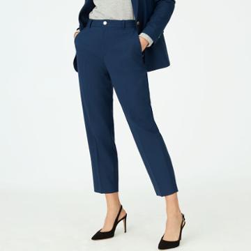 Club Monaco Color Blue Borrem Pant