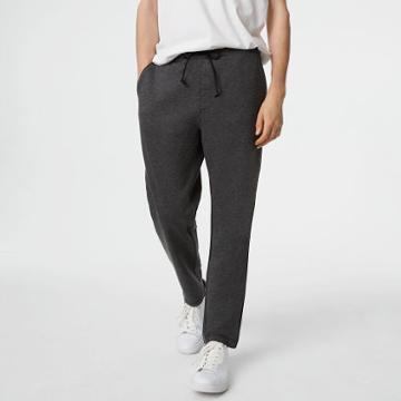 Club Monaco Color Grey Piped Sweatpants