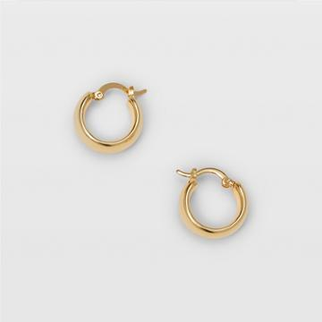 Club Monaco Gold Small Chunky Hoop