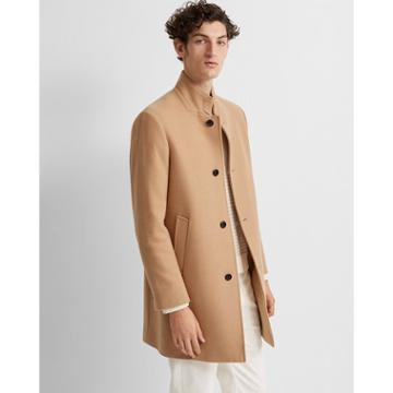 Club Monaco Camel Loukas Coat